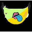 Masque fille - pink leo